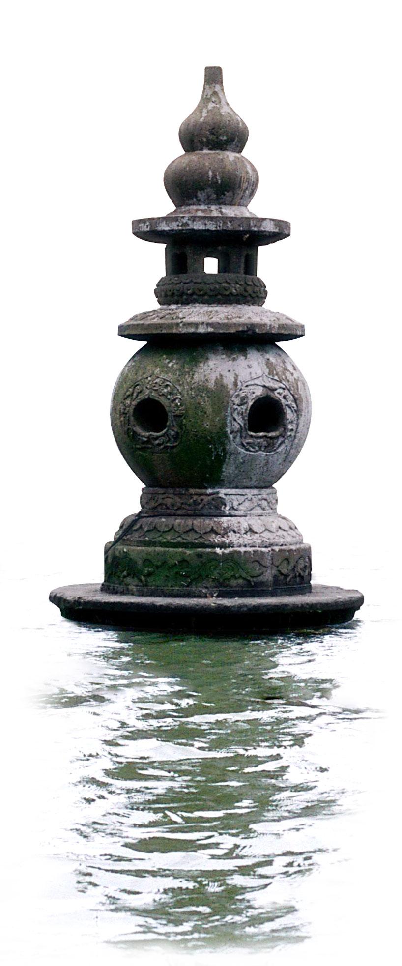 Isla de los tres estanques