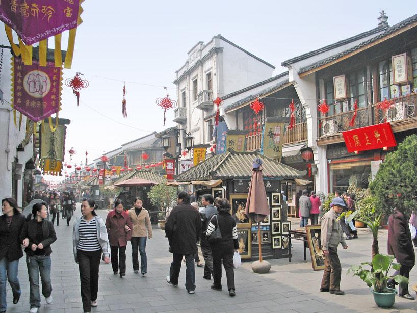 Calle Qinghefang de Hangzhou - Zhejiang