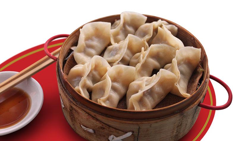 Jiaozi (饺子), empanadas rellenas,