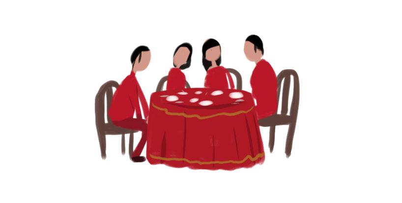 Cenar en familia (吃团圆饭)