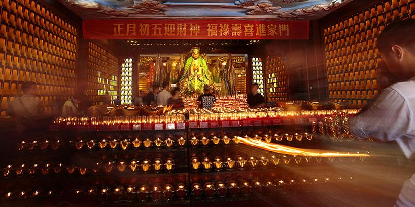 Dioses de la Riqueza Chinos