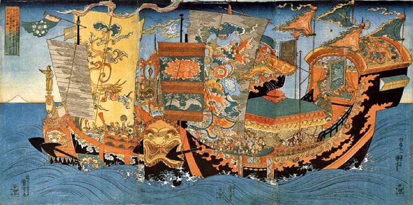 rutas marítimas chinas.