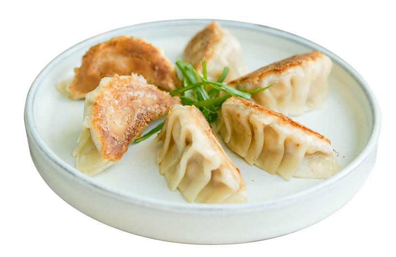 Gastronomía Hakka - Jiaozi de tofu