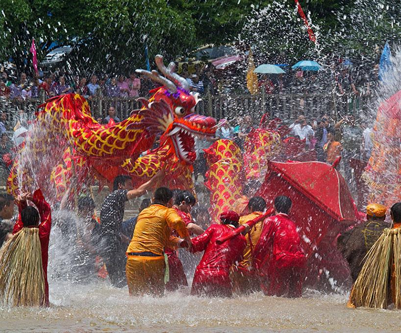 Festival de los tulou a la diosa Mazu
