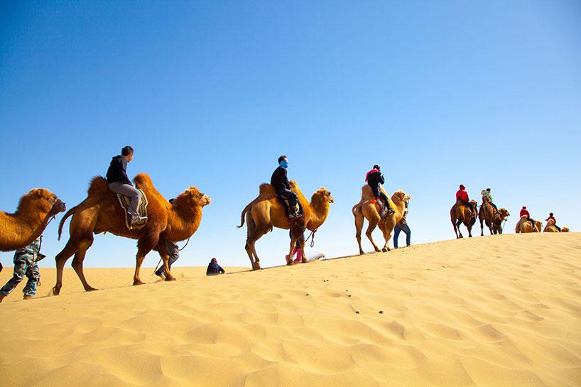 Desierto de Badain Jaran