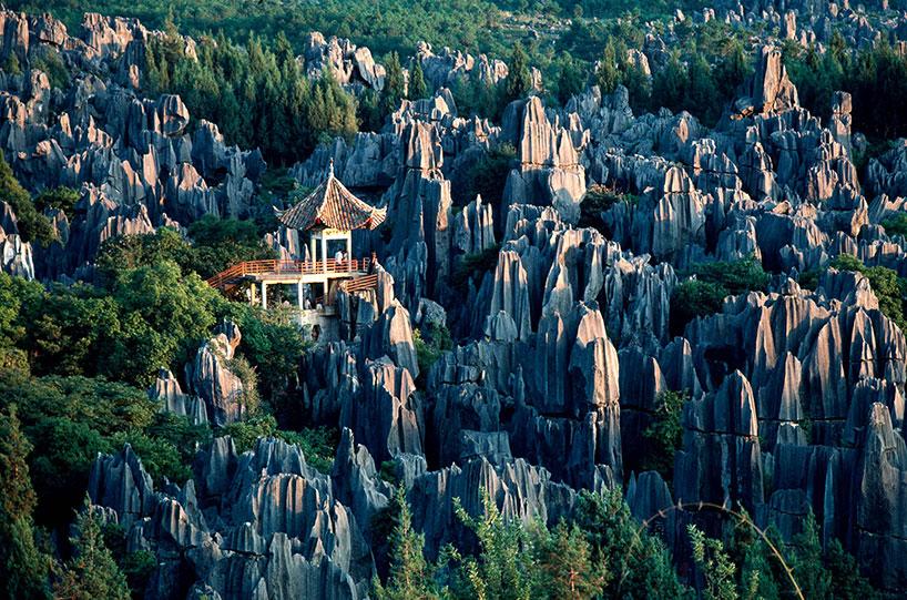 Bosque de piedras de Kunming (Shilin).