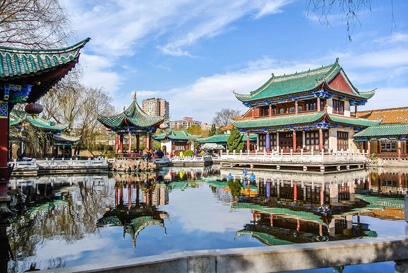 Lago Cuihu.Kunming