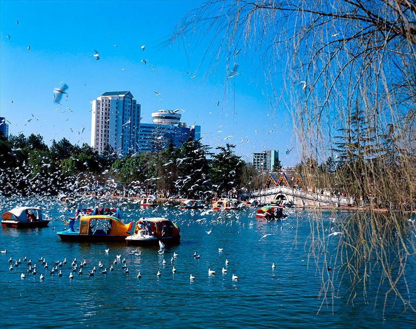 Lago Cuihu. Kunming