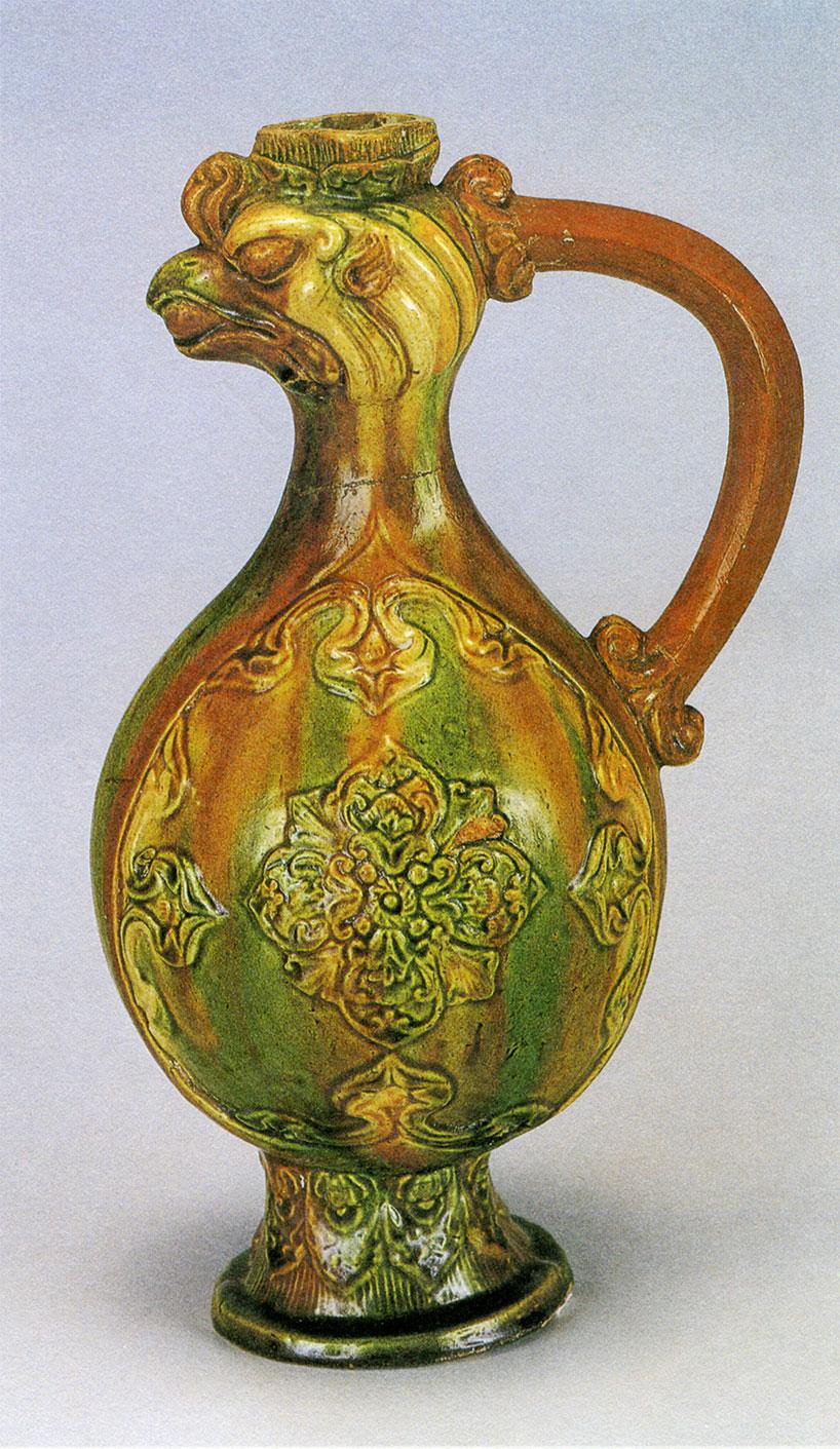 La cer mica de esmalte tricolor de la dinast a tang Esmalte para ceramica
