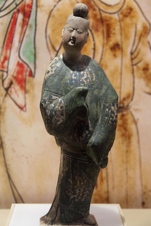 La distinguida cerámica de esmalte tricolor de la dinastía Tang