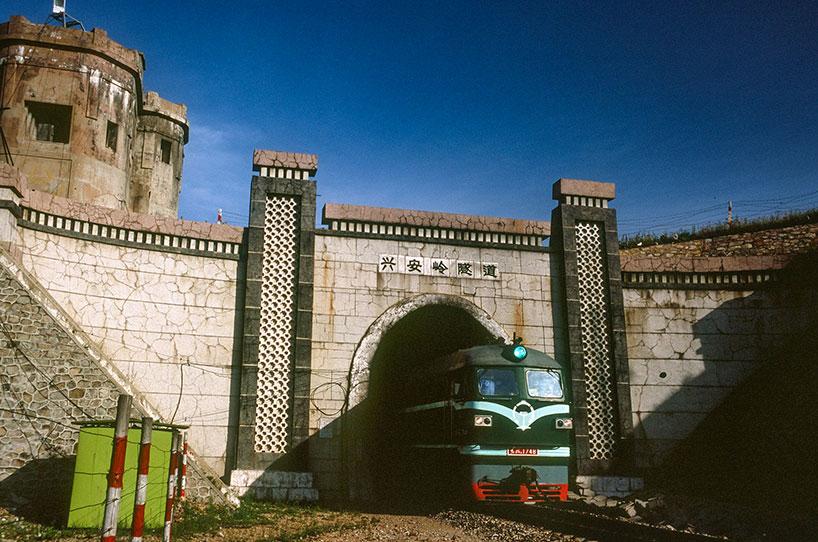 Túnel excavado del Gran Khingan.