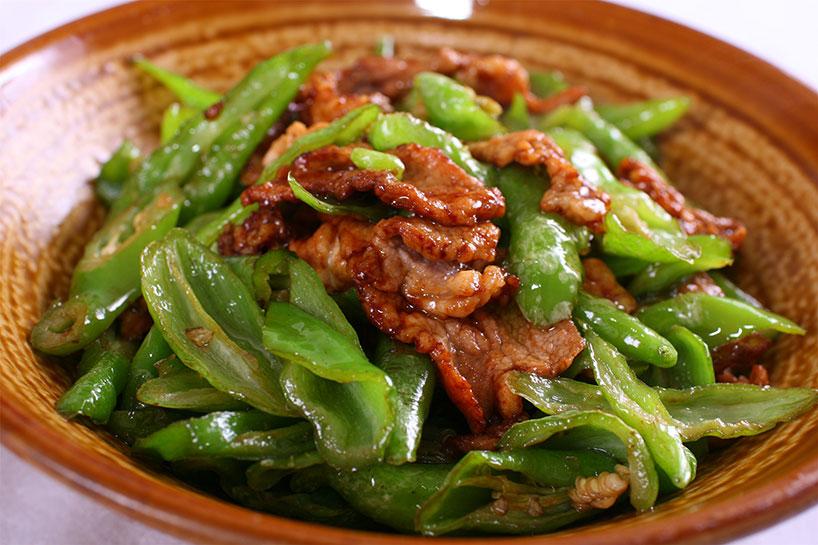 Los pimientos que les encanta comer a la gente de Changsha.