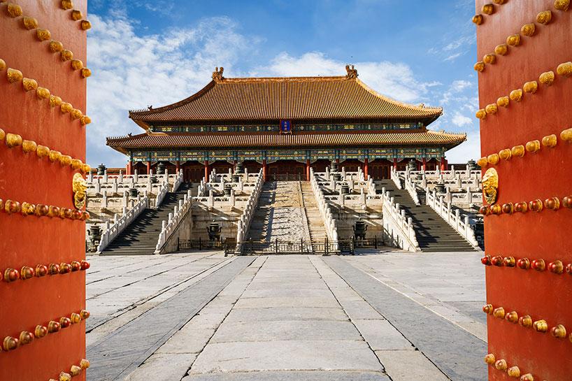 Ciudad Prohibida de Beijing.