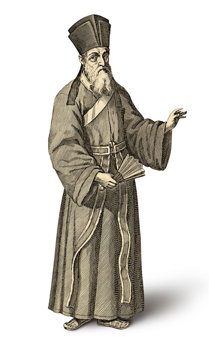 Matteo Ricci y Diego de Pantoja