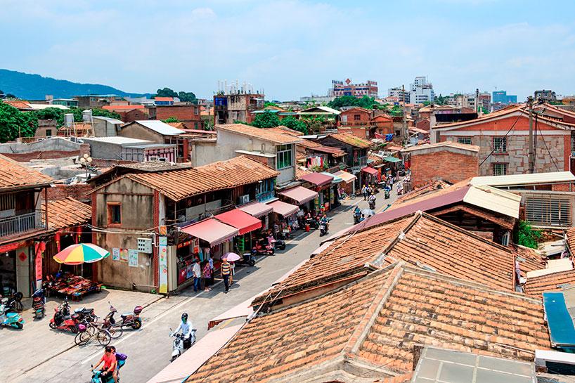 La calle del Oeste de Quanzhou.
