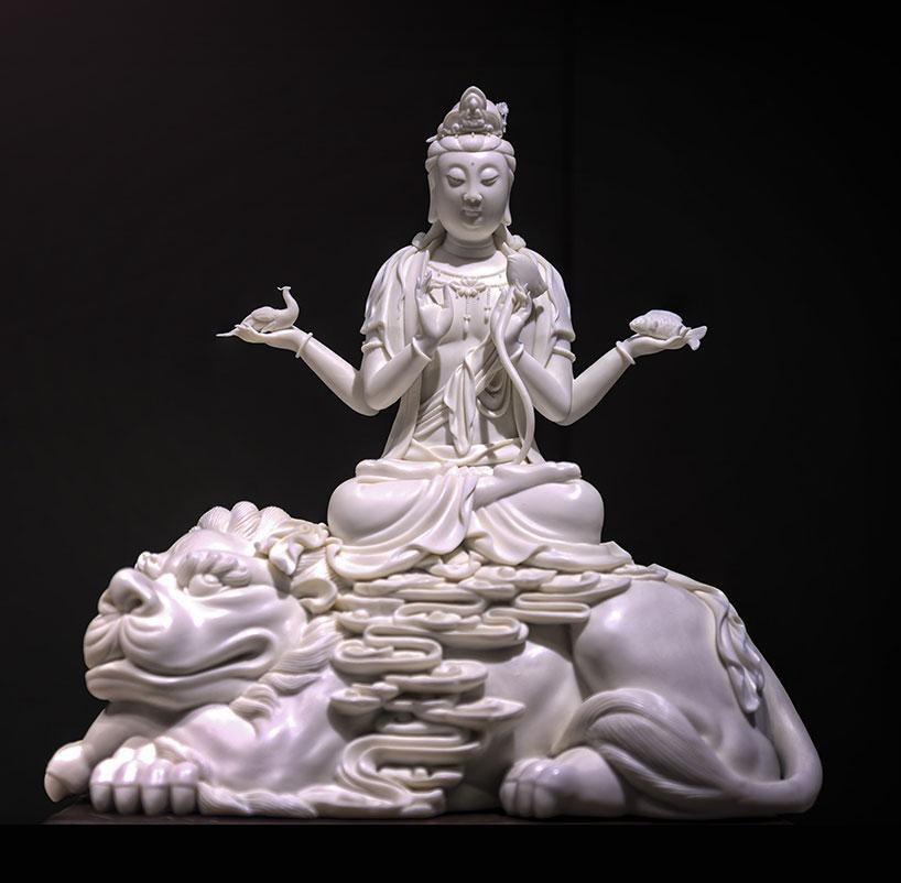 Porcelana blanca de Dehua.