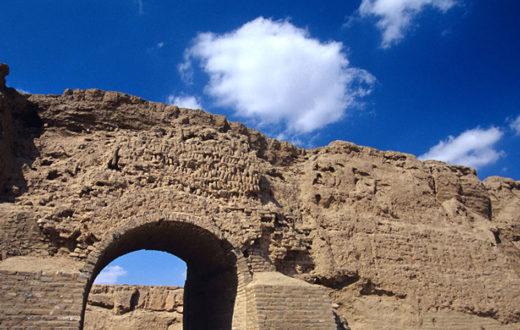 La Gran Muralla en Ningxia