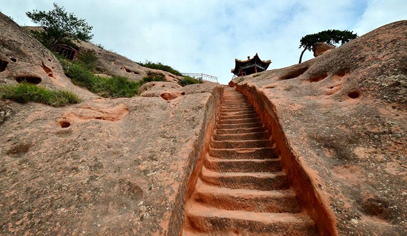 Las grutas del monte Xumi de Ningxia.