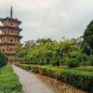 El gran templo budista de Kaiyuan, símbolo de la riqueza espiritual de Quanzhou