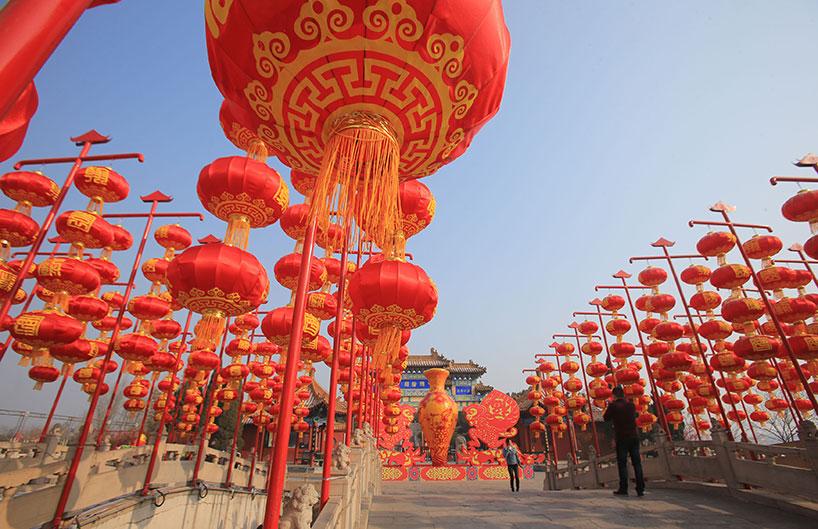 El color rojo en China