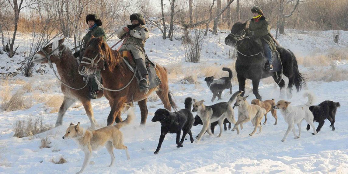 Cazadores del pueblo oroqen