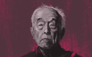Ji Xianlin. Ilustración de Xavier Sepúlveda.