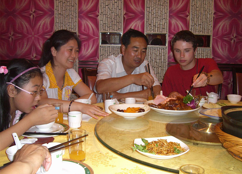 "Wǒ céngjīng chīguo kǎoyā 我曾经吃过烤鸭 / ""Alguna vez he comido pato laqueado"""