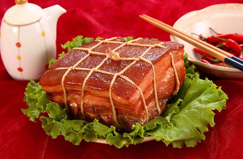 El cerdo al vino de Shaoxing